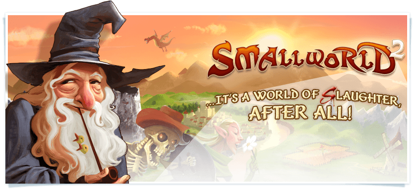 Small World 2 banner