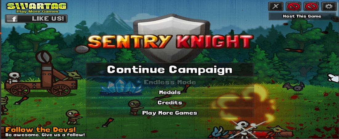 Flash Game of the Week: Sentry Knight
