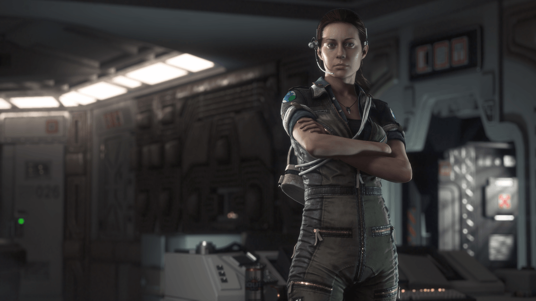 Alien: Isolation Screen 3 – Amanda Ripley