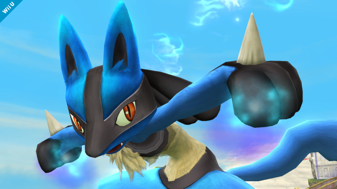 Lucario Returning to Super Smash Bros for Wii U/3DS