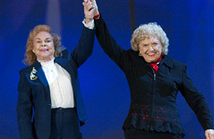 Mae Young and The Fabulous Moolah
