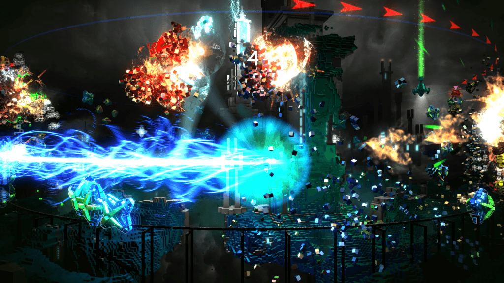 Resogun Developer Working on DLC, Unannounced PS4 Project