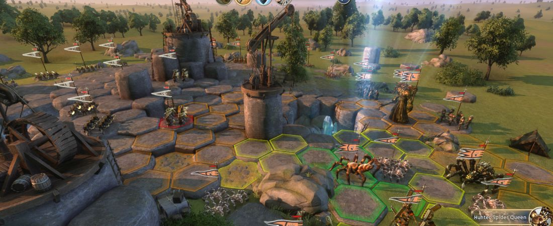 Age of Wonders III Gameplay Video – Archdruid, Random Map Generator