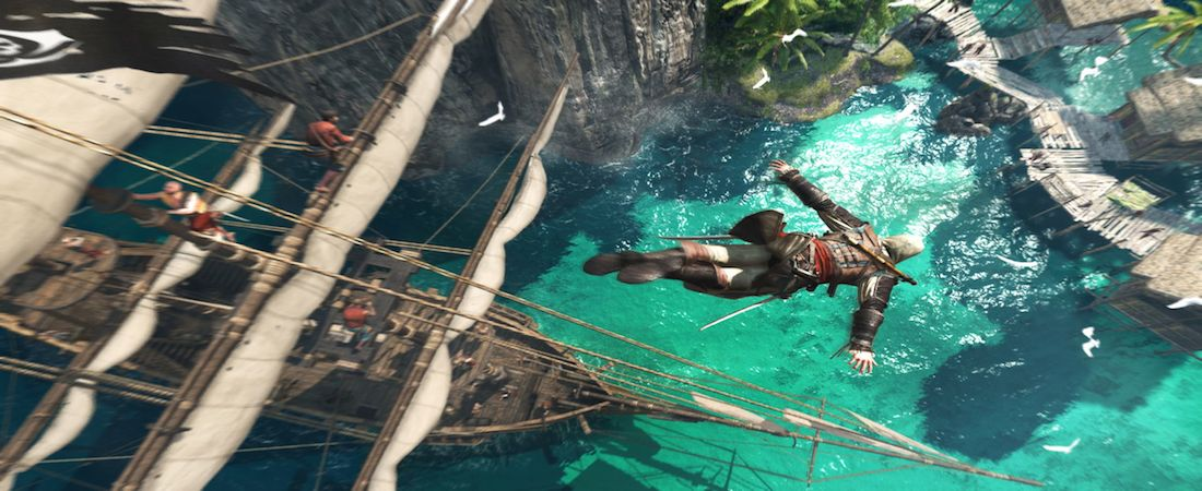 Assassin's Creed IV Leap of Faith