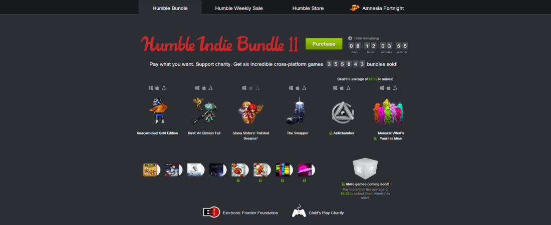 Humble Bundle 11