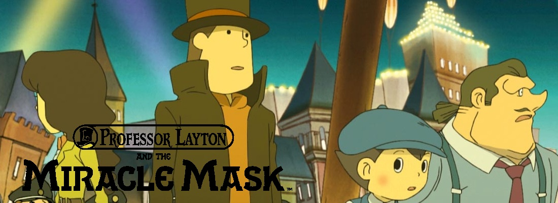 Professor Layton and the Miracle Mask Review: Keep on Puzzling