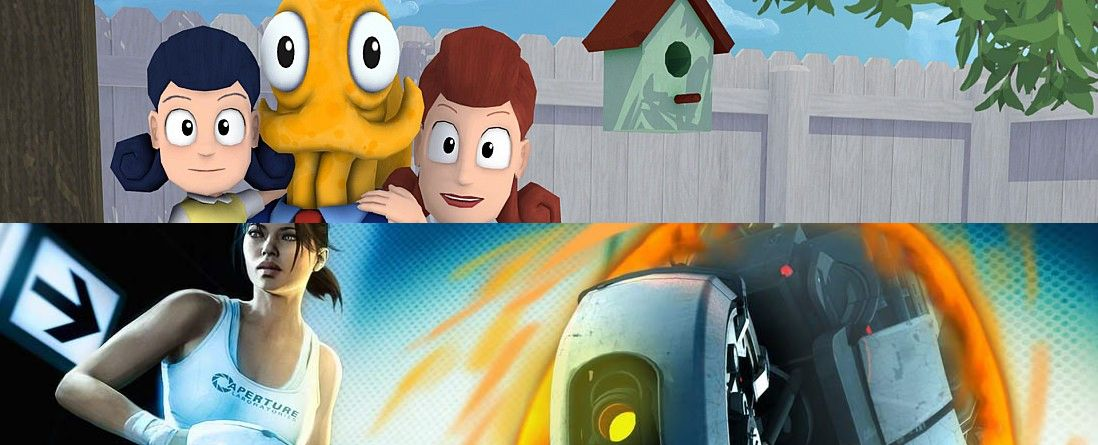 Octodad and Portal (Featured Image)