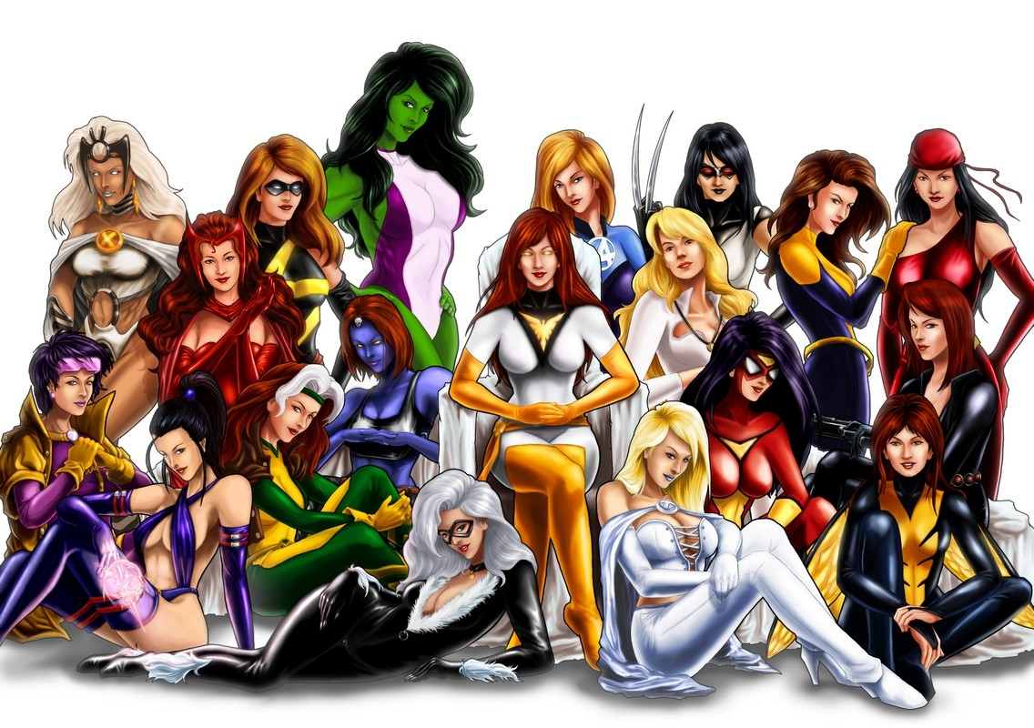 The Women of Marvel.NOW
