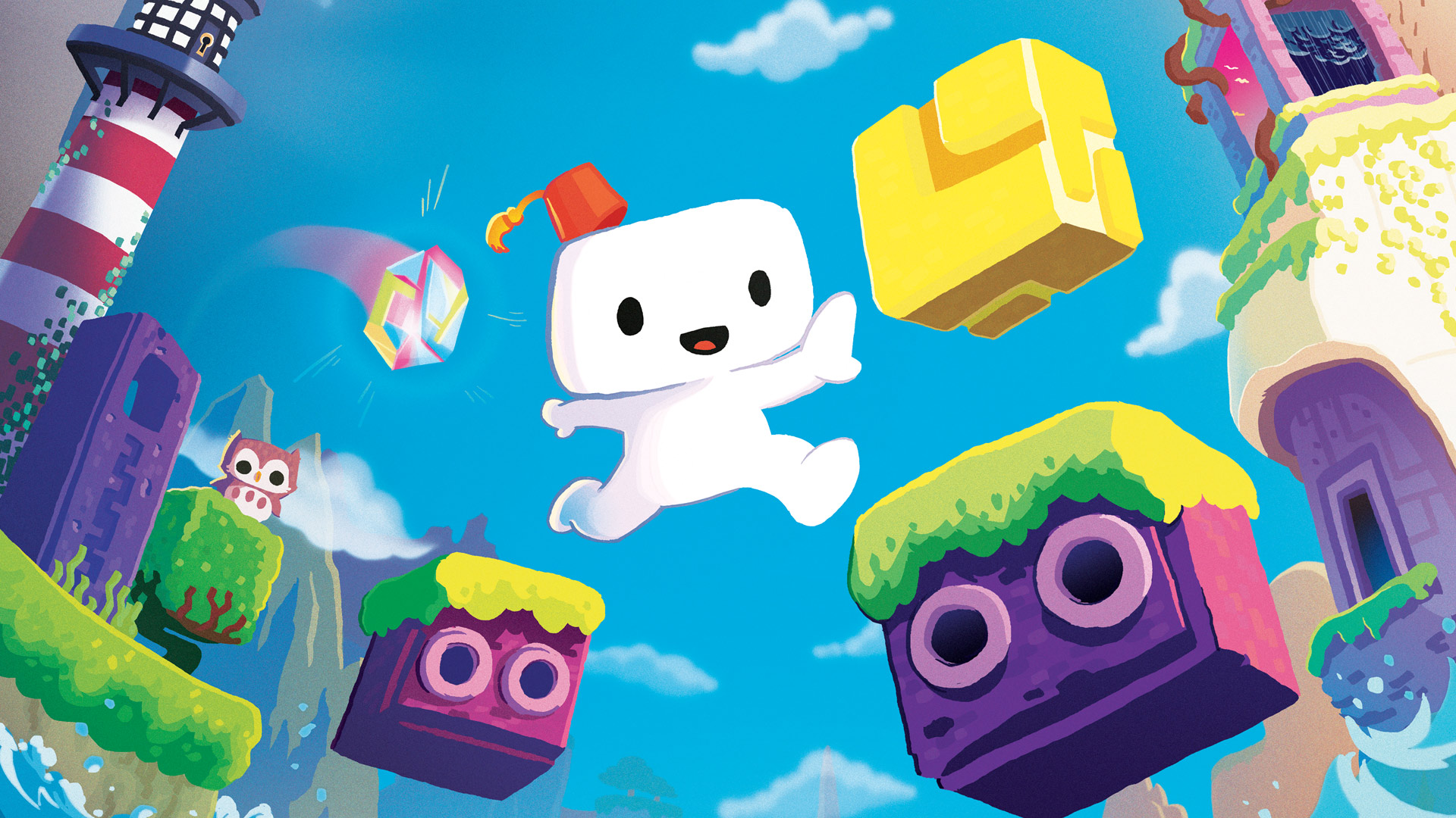 New Footage of Fez on PS4