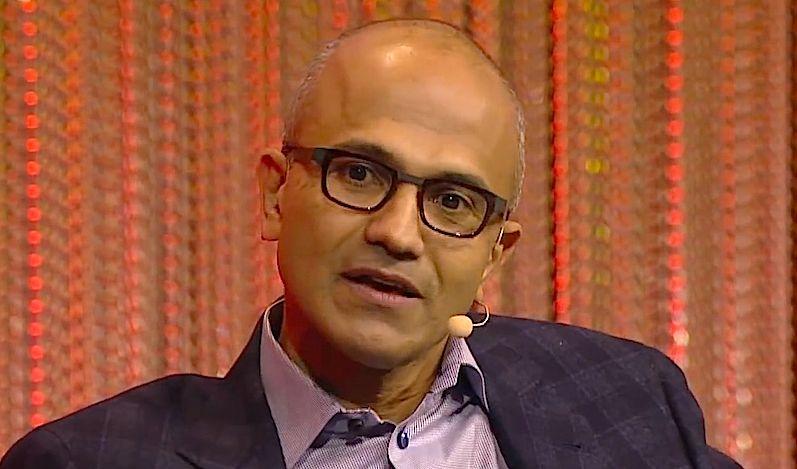 Microsoft Names Satya Nadella New CEO