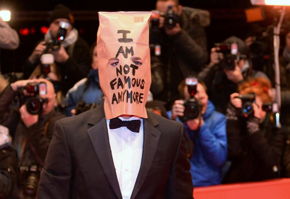 Shia LaBeouf Becomes Famous By Wearing a Bag on His Head