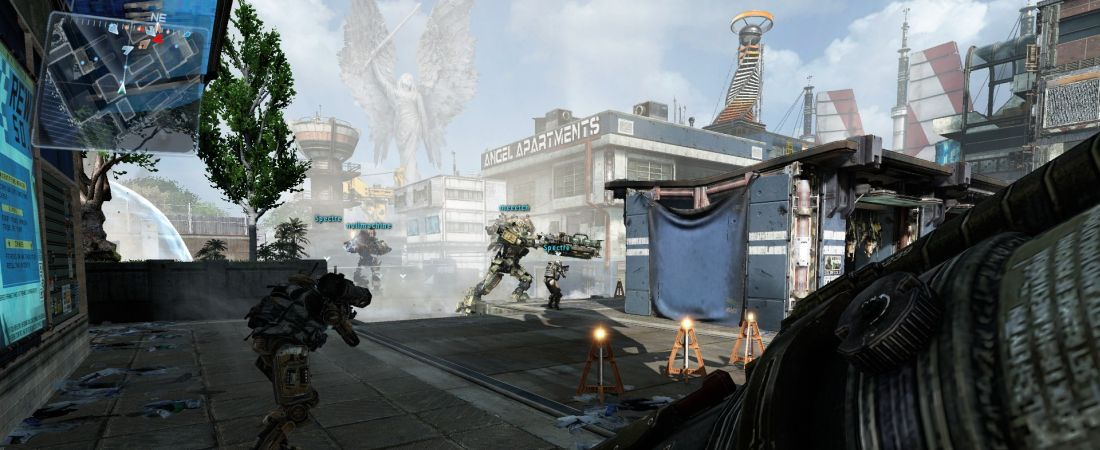 titanfall angel city banner