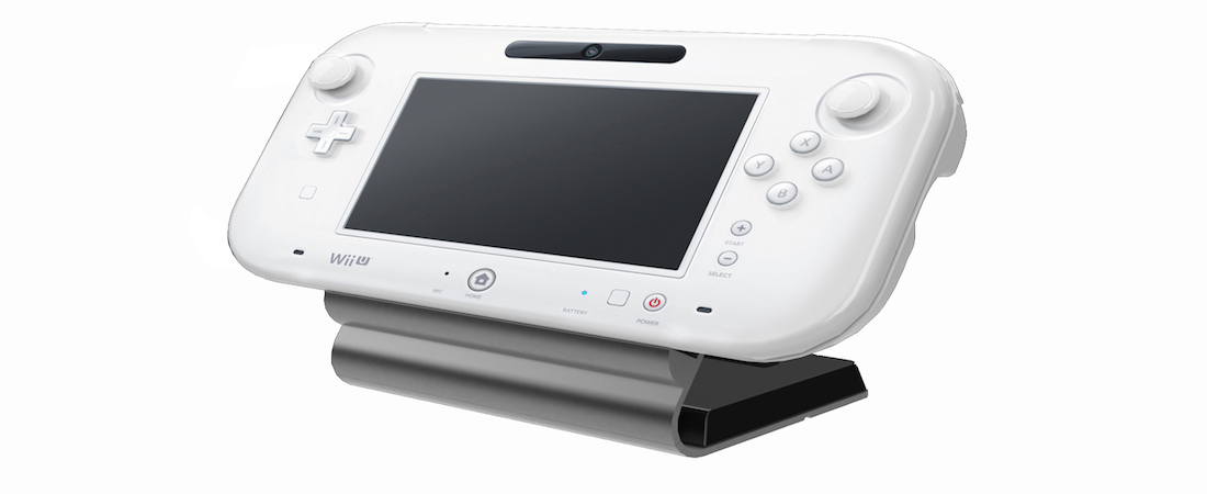 Wii U Gamepad With Cradle