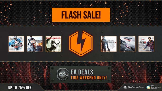 EA PSN Flash Sale Has Crysis Series, Dead Space Series, More