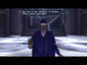 The Cathedral of Shadows is a recurring feature in the Megaten series, and for good reason. It even made it in to the MMORPG.