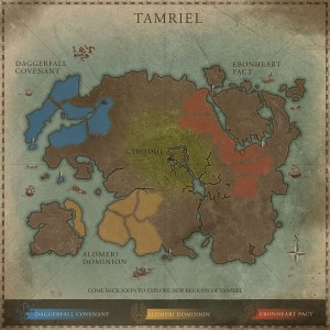 TESO faction map