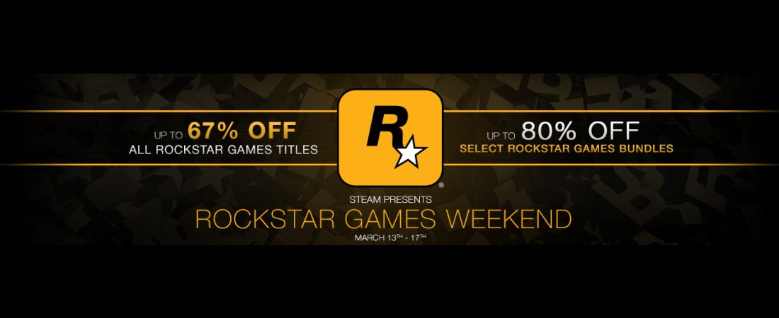 Rockstar Games Weekend On Steam Brings Massive Discounts, 67-82% Off