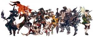 A few classic Final Fantasy Jobs.