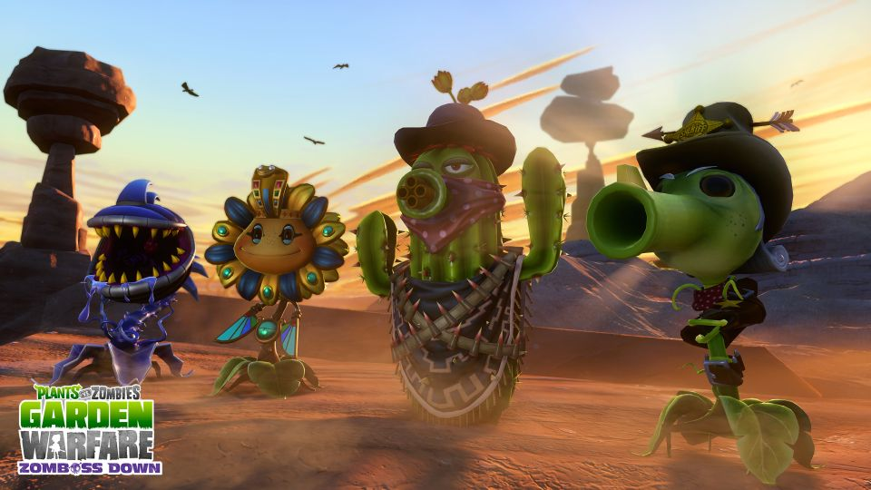 Plants vs. Zombies: Garden Warfare gets free Western-themed DLC