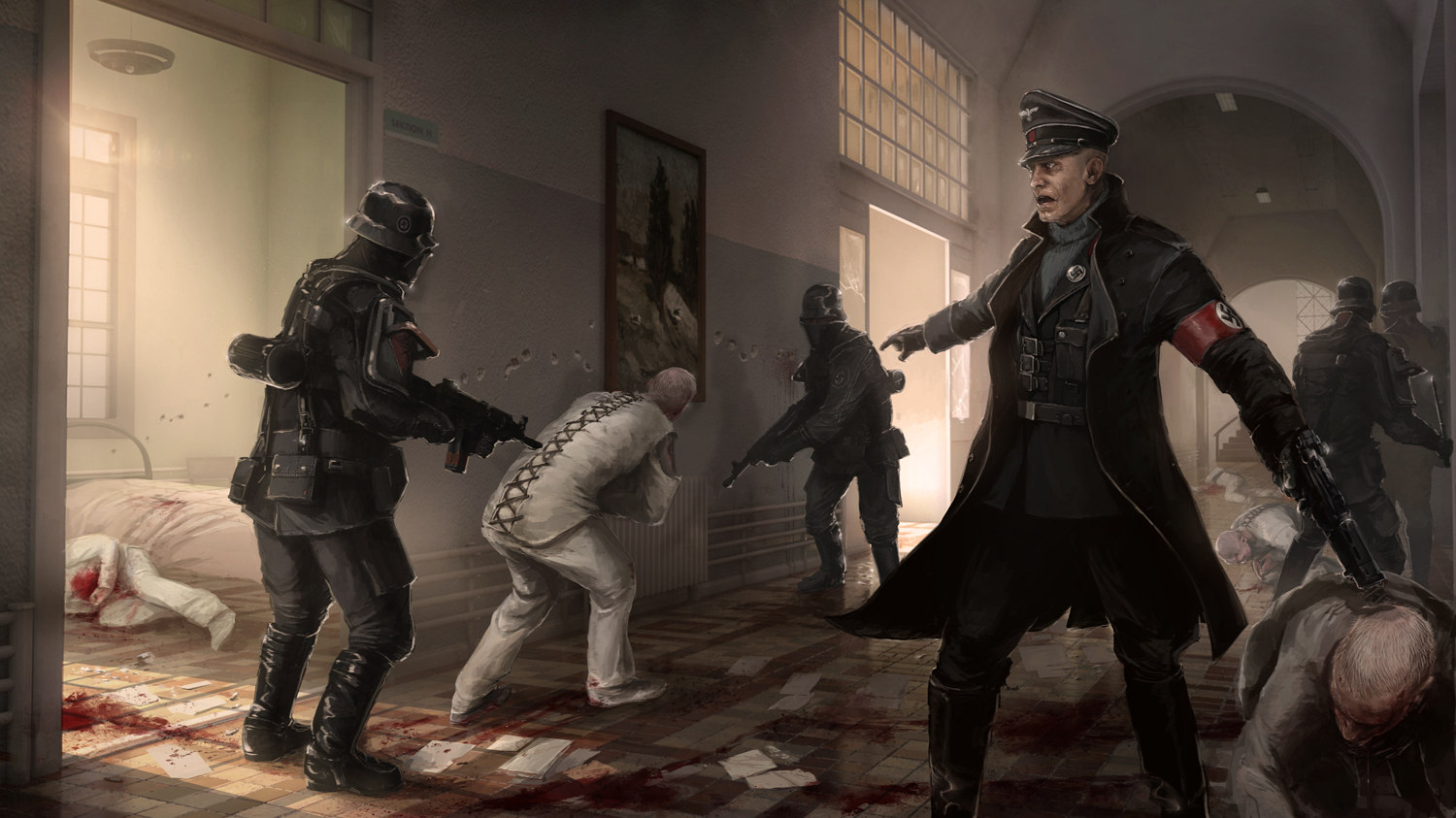 Wolfenstein: The New Order Gameplay Trailer shows Stealth vs. Mayhem