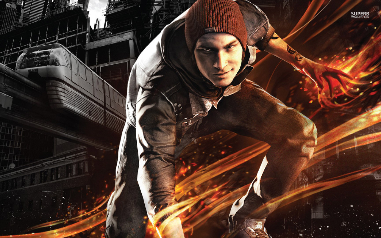 InFamous Second Son Fan Kit Available – Get Wallpapers, Ringtones, Character Art And More!