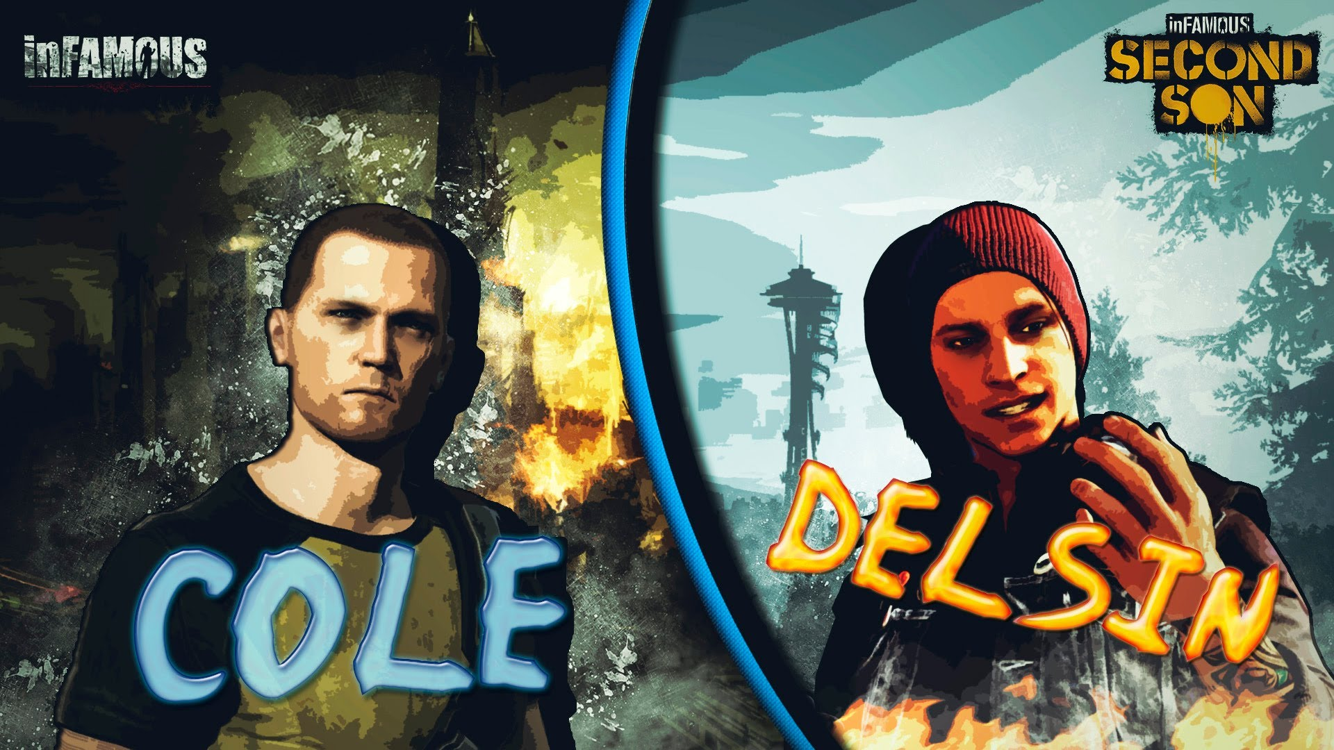 inFamous Showdown: Cole McGrath vs Delsin Rowe