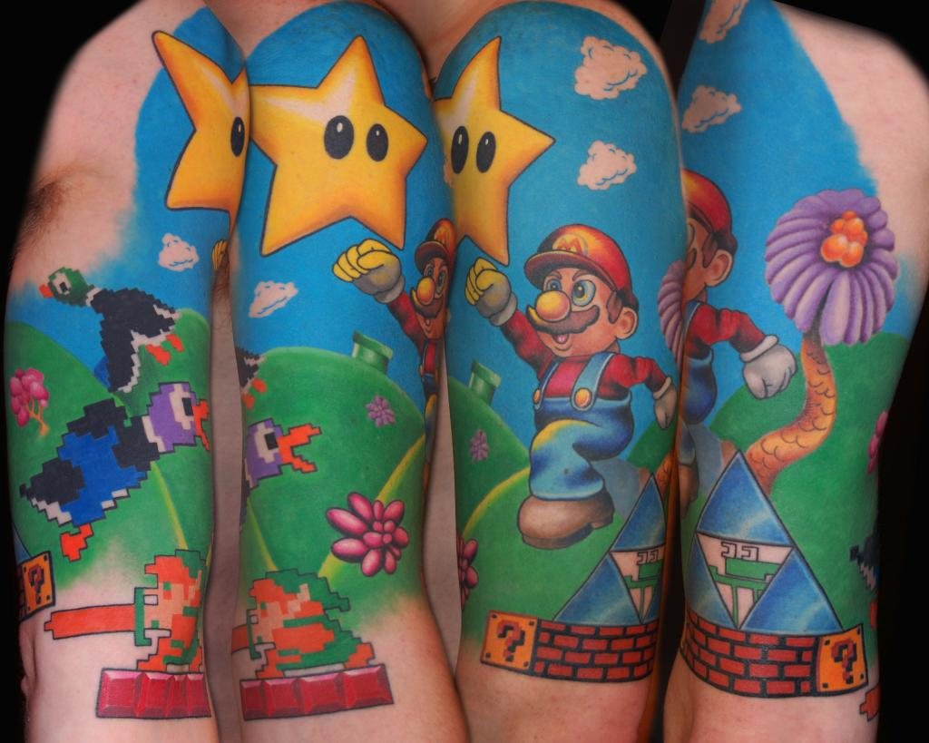 Video Game Tattoos: To Ink, Or Not To Ink?