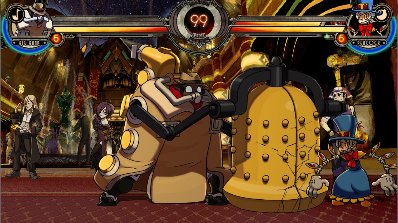 Skullgirls Encore: Big Band and the Unfinished Business Patch