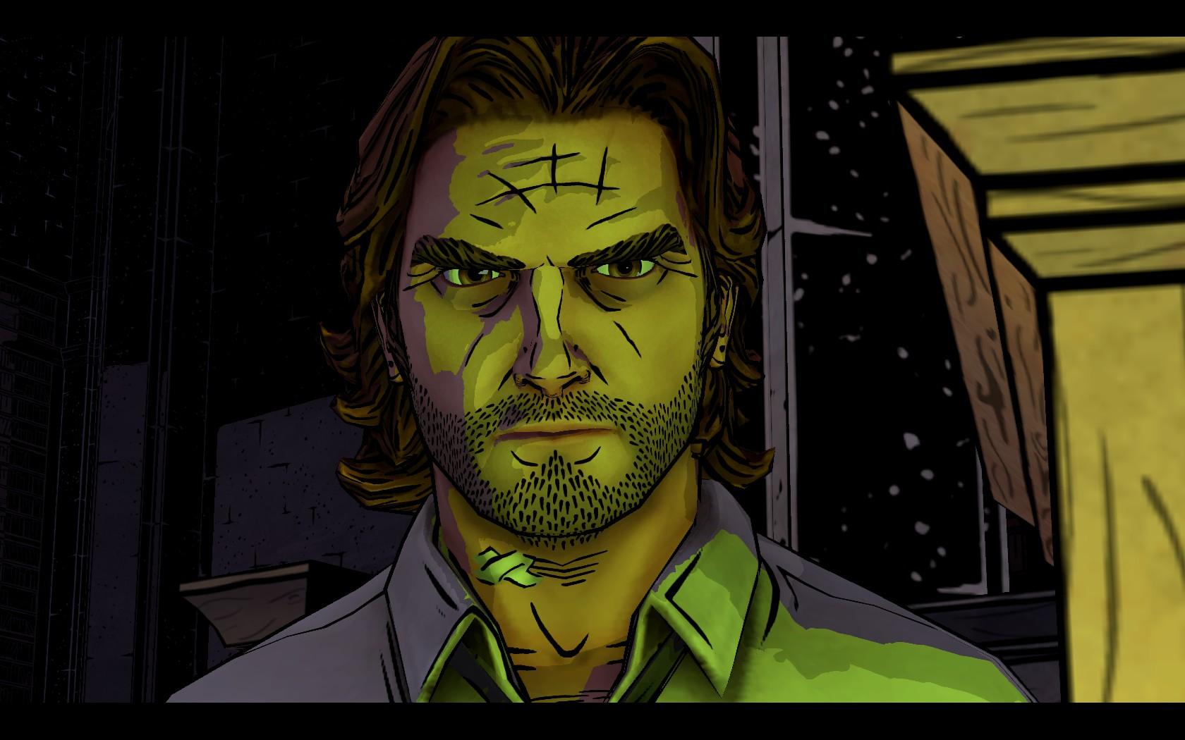 The Wolf Among Us Bigby in Green
