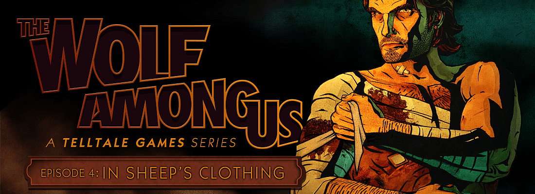 The Wolf Among Us Episode 4 Bigby and Logo (Featured Image)