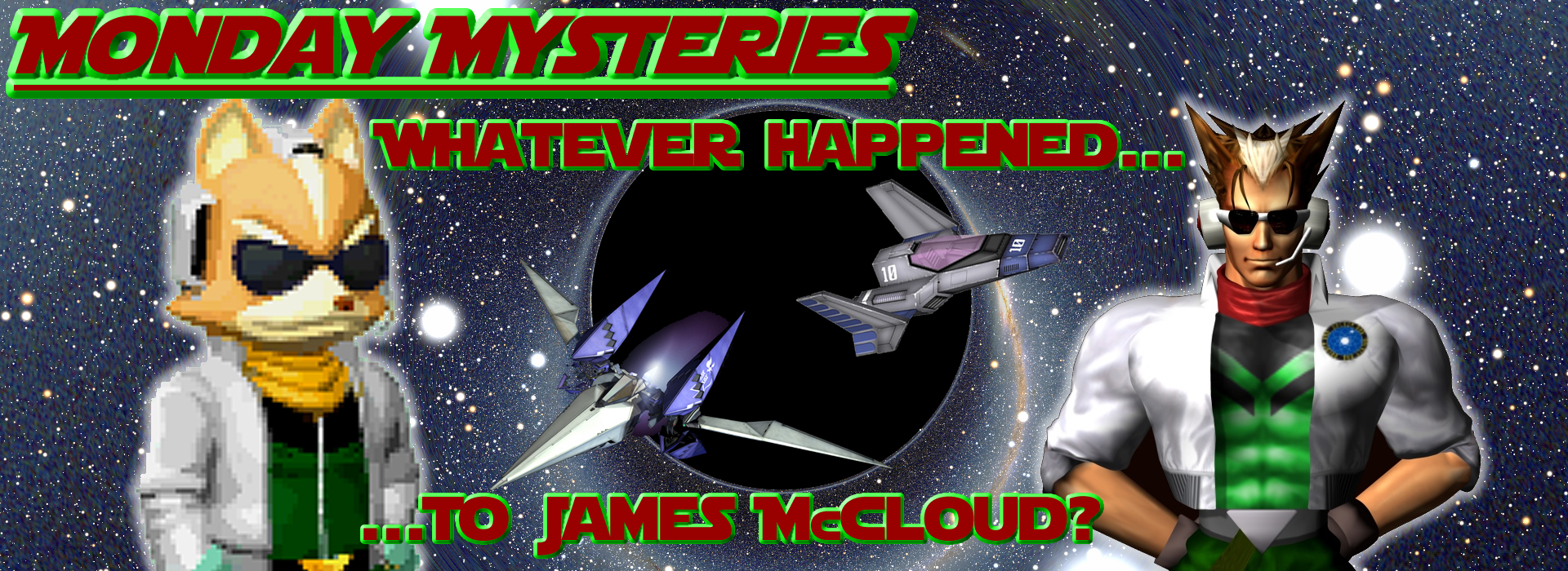 Whatever Happend to James McCloud Banner