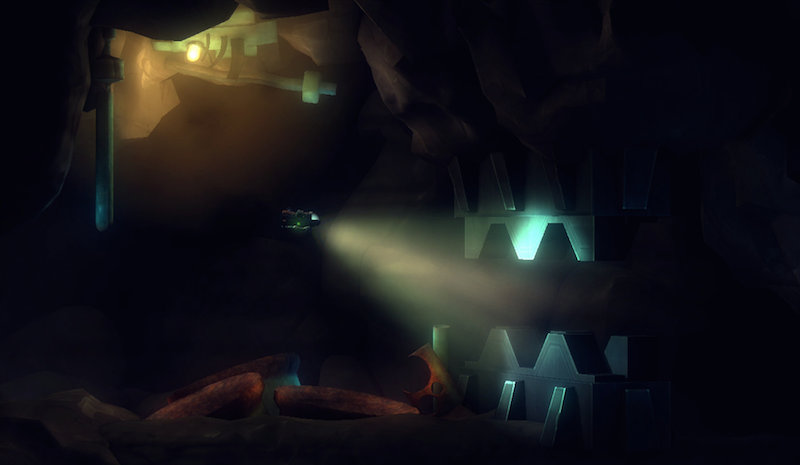 Affordable Space Spelunks for the Alien on Wii U