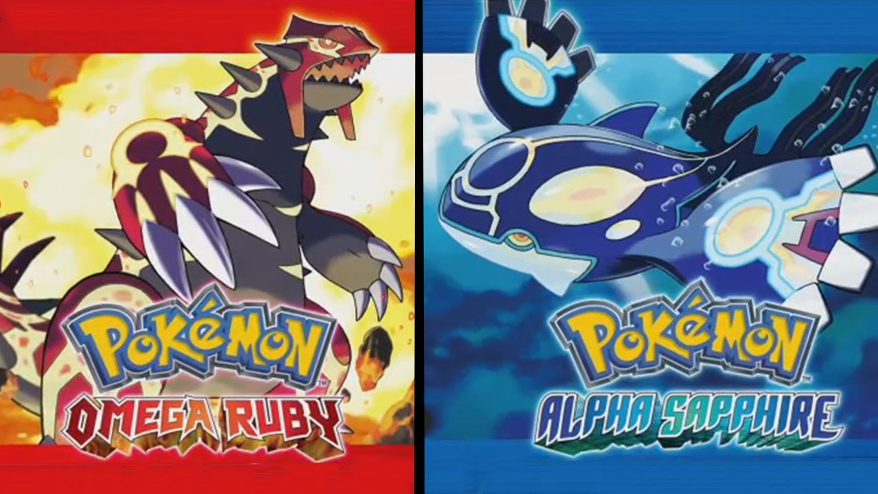 Release date for Pokemon Omega Ruby and Alpha Sapphire