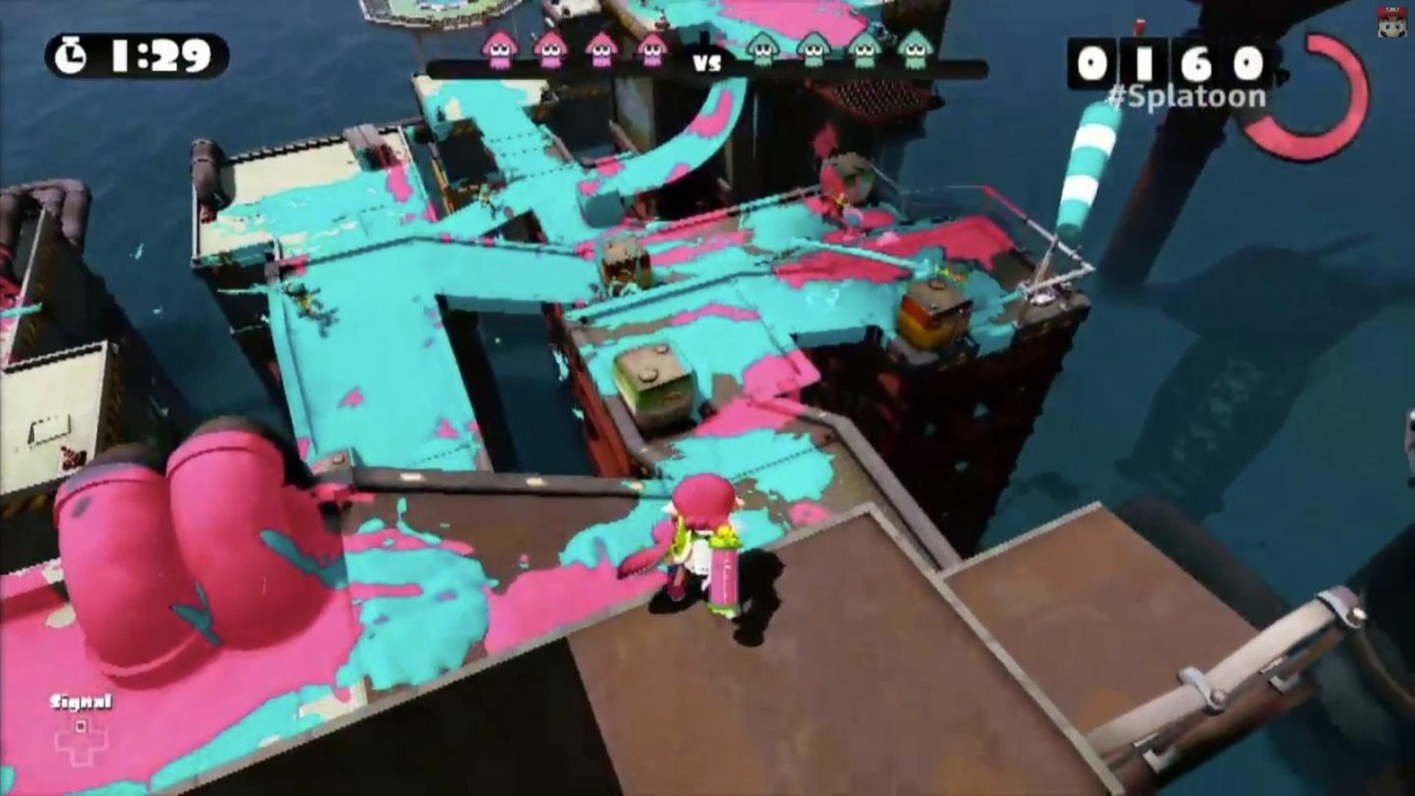 Splatoon Gameplay from Nintendo Treehouse
