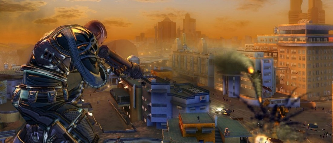 Crackdown Announced For Xbox One