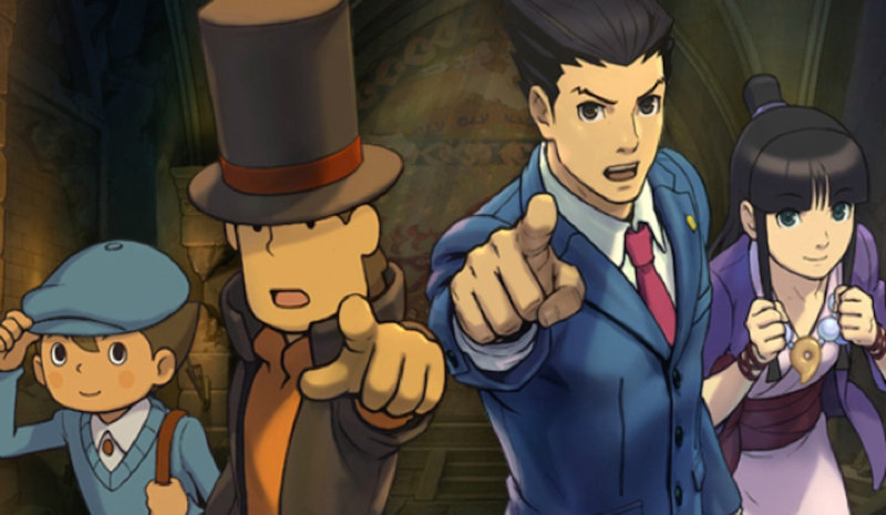 Layton Vs. Ace Attorney