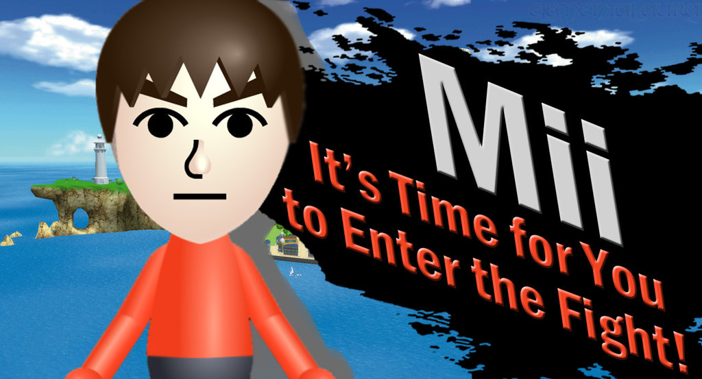 Mii's confirmed for Super Smash Bros