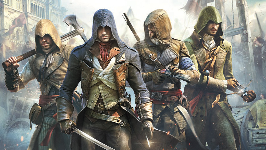 Watch 11 Minutes Of Assassins Creed:Unity Gameplay