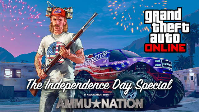 Celebrate The US of A In GTA V's New Update