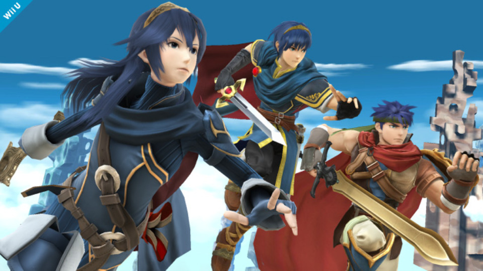 Smash Bros Fire Emblem
