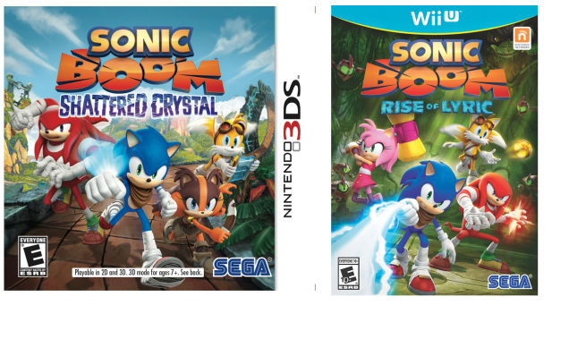 Sonic Boom Coming to Wii U & 3DS in November