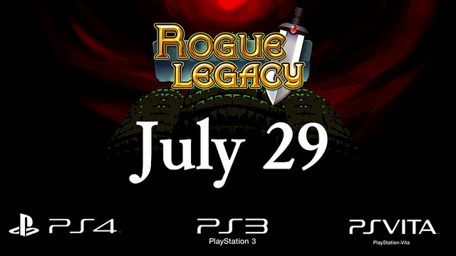 Rogue Legacy Coming To Playstation July 29th