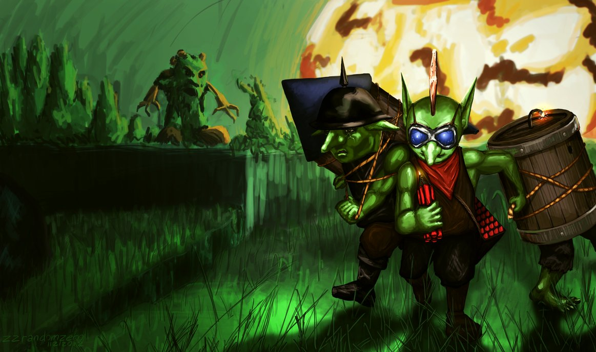 Goblin Techies Revealed For Dota 2