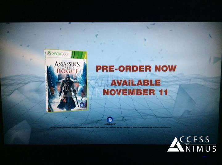 UPDATE: Assassins Creed: Rogue Leaked – Coming November 11th