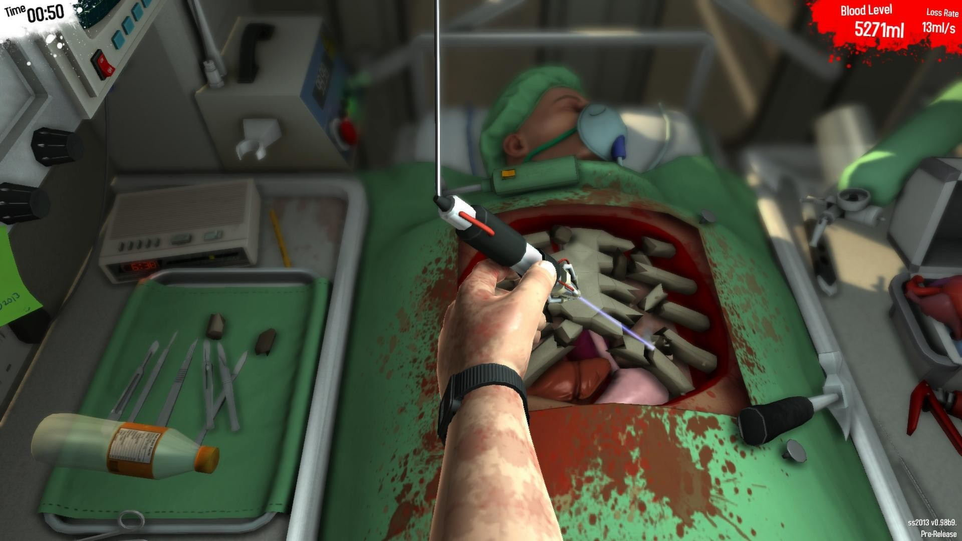 Surgeon Simulator Is Coming To The PS4 Next Week