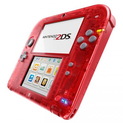 Transparant 2DS red