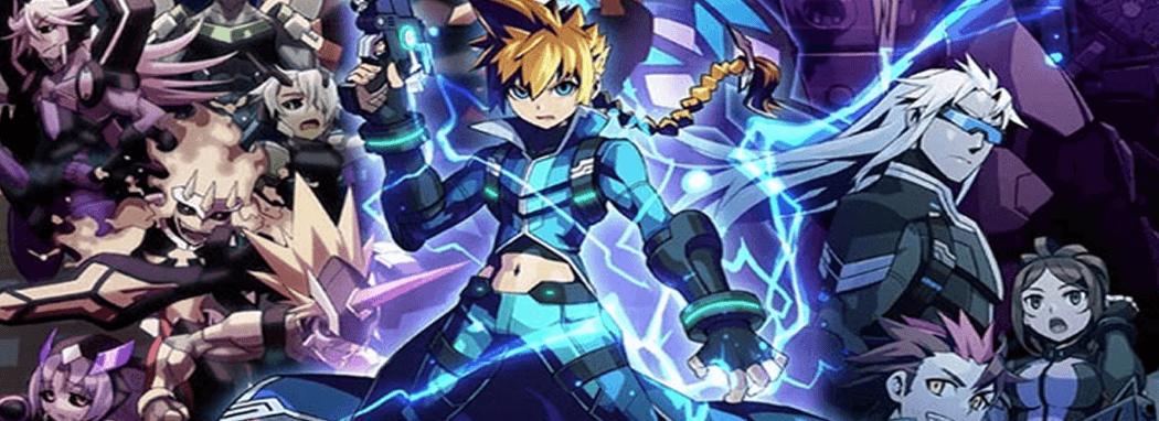 Azure Striker Gunvolt Banner