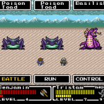 Final Fantasy Mystic Quest battle