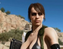 Metal Gear Solid 5: The Phantom Pain 'Quiet' Developer Demo
