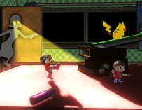 Don't Let Mom Find You in This Super Smash Bros Stage